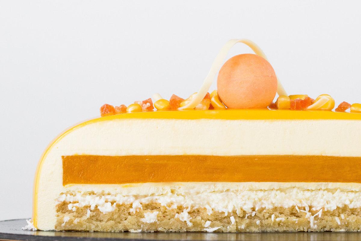 Mango-marakujas kūka